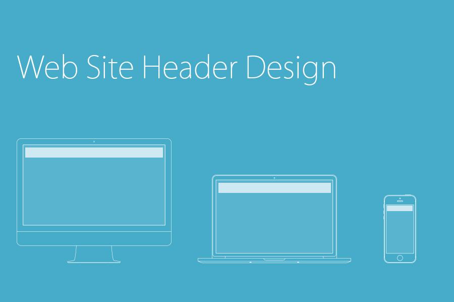 web site header design メインビジュアル